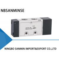 China 1 / 8   1 / 4   Port  Single / Double Acting Solenoid Valve ISO9001 Certification on sale