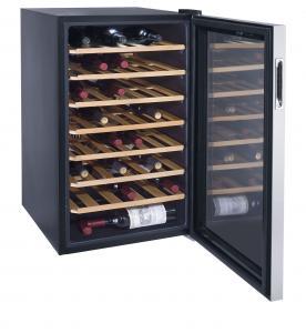 45 Bottles 128L Wine Cooler Single Zone (compressor Wine Cellar) Manufactures
