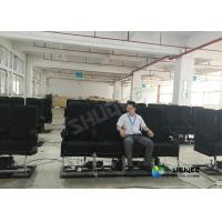 12 Seats Movie Theater 4D Movie Equipment Advantages In A Simulated Earthquakes Manufactures