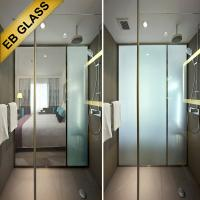 China switchable smart glass/eb glass brand Manufactures