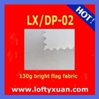 Good price Super quality digital printing flag fabric Bright flag fabric LX/DP-02 Manufactures