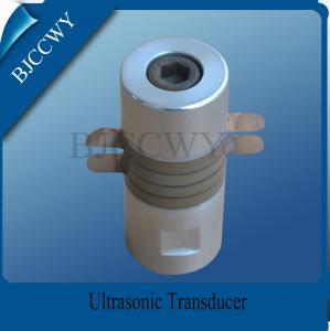 China 20 KHZ / 25KHZ / 40KHZ Ultrasonic Transducer For Welding Machine on sale