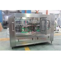 China Monoblock 3 In 1 Pet Bottle Filling Machine Automatic Washing Filling Capping Machine on sale