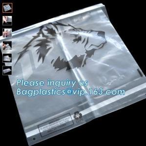 BIOCOMPOST CLOTH PAC EN13432 BPI OK compost home ASTM D6400 manufacturer cheap plastic biodegradable courier express bag Manufactures