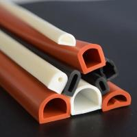 Buy cheap Good elastic silicone rubber tube/flame retardant rubber pipe/masking rubber from wholesalers