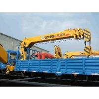 Quality XCMG SQ10SK3Q Truck Mounted Telescopic Boom Crane 10t for sale