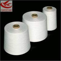 high quality polyester spun virgin yarn 55s/1 for knitting Manufactures