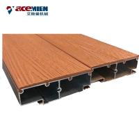 PP PE PVC Plastic Wood Composites Profile Making Machine WPC Railing Decking Board Door Frame Manufactures
