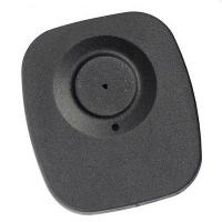 High quality plastic alarming tag EAS RF black security tag for supermarket anti-shoplifting Manufactures