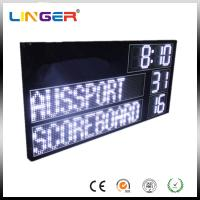 High Brightness AFL Electronic Soccer Scoreboard Led Cricket Scoreboard With Led Team Name Manufactures