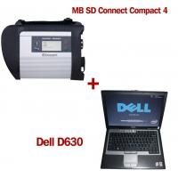 MB SD Connect Compact 4 Star Diagnosis 2017.12V Software Version Plus Dell D630 Laptop Manufactures