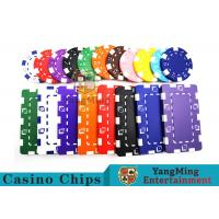11.5g - 32g Clay Poker Chips With Sticker With Unique Dice Fancy Mold Design Manufactures