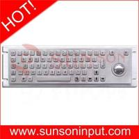 China industrial keyboard with trackball on sale