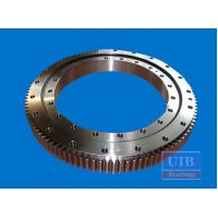 Cross Roller Support Bearing 111.32.1250 , Z Type Flange Rotary Bearing For Excavator Manufactures