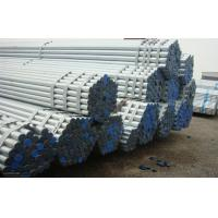 DN25 Hot Rolled Welding Galvanized Steel Pipe Tubing black painted , 34MM X 3.2MM Manufactures