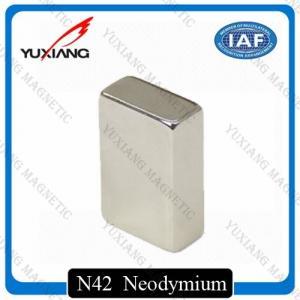 Coating Nickel N45 Neodymium Magnets Rectangular 20x10x40mm Rare Earth Magnet Manufactures