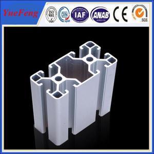high precision 40*80 Industrial Aluminum Extrusion Profiles Manufactures