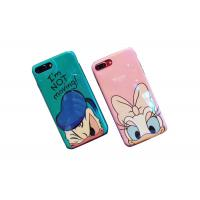 Bling Surface Donald Duck IMD Print TPU Apple Cell Phone Cases Lip Around The Edge Manufactures
