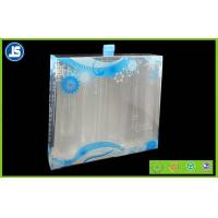 Offset Printed And Foil Stamped Clear PET Folding Cartons For Cosmetic , Beauty Industry Manufactures