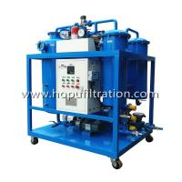 China TY Turbine Oil Filtration Plant,Used Turbine Oil Flushing and Filtration System,Vacuum Lube Turbine Oil Polishing System on sale