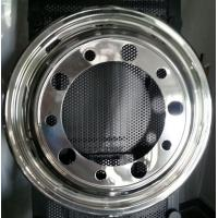 Scania Truck Wheel Covers , 304 Stainless Steel Bus 22.5 Wheel Simulators Manufactures