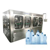 China 5 L Mineral Water Barrel Filling Machine , Water Filling Production Line on sale