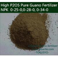 Foliar Fertilizer 6000 Mesh Fossilized Seabird Guano Fertilizer Manufactures