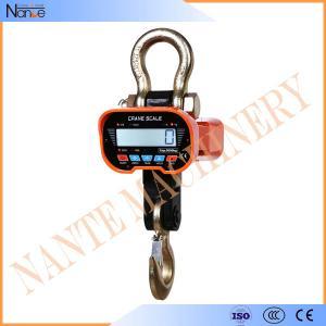 1t - 20t Digital Hanging Crane Hook , OCS Electronic Crane Scale Manufactures