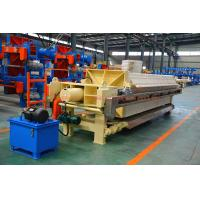 1250mm Big PP Plate Automatic High Pressure PP Chamber Filter Press Manufactures