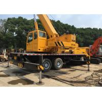 China Second Hand Mobile Cranes XCMG 25T QY-25K For Construction Original Paint on sale