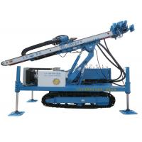 MDL-150H Rotary System Drilling Rig Construction , Hydraulic Crawler Drilling Machine Manufactures