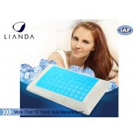 Summer Fashion Memory Foam pillow gel cool Neck Care Massage Manufactures