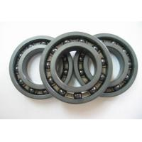 Hybrid Ceramic Open Deep Groove Ball Bearings High Speed P0 / P6 / P5 Manufactures