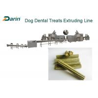 China High Speed Dog Food Extruder For Dog Beloved Chewing Treats Extrusion on sale