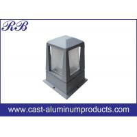 OEM Casting Aluminum Housing Parts For Outdoor Garden Lawn Light Manufactures