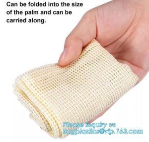 China Cotton Mesh Net bag Shopping Tote Bag for foods,Reusable Net Cotton Mesh Tote Fruit Bag With Long Handle,bagplastics pac on sale