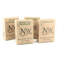 Natural Soap Small Foldable Kraft Paper Packaging Boxes Single Color Printing Manufactures
