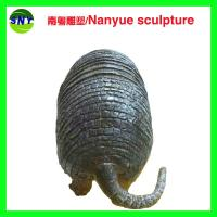 life size animal fiberglass statue large  pangolin model as decoration statue in garden Manufactures