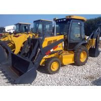 China Wheeled Hydraulic Backhoe for Compact Tractor 7400 Kg Operating Weight on sale
