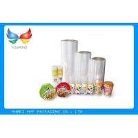 China 50 Gauge Thickness Central Fold Polyolefin Shrink Film For Packed Food & Beverages on sale