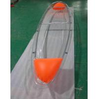 China Customized Clear Polycarbonate Boat For Fishing / Crystal Pc Canoe on sale
