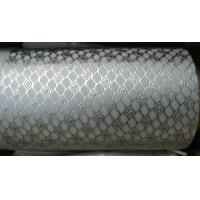 Alloy Steel Embossing Roller For Paper , Tissue , Foil And Leather With Different Pattern Manufactures