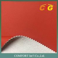 China Microfiber Leather , Imitating Genuine Leather For Sofa And Chairs / Upholstery on sale