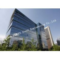 High Intensity Prefabricated Multi Storey Commercial Steel Buildings for Hospital Manufactures