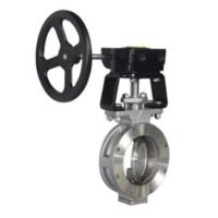 High Performance Butterfly Valves Casting Material Compact Structure Manufactures