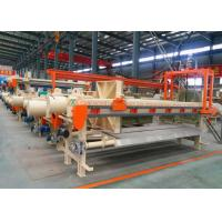 Auto Chamber Once Open Fully Automatic Filter Press Siemens PLC Control Manufactures