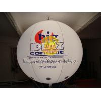 Inflatable Advertising Lighting Balloons with UV protected printing,Inflate Ground Balloon Manufactures