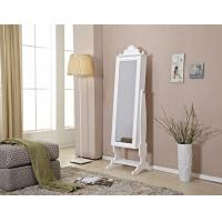 Floor Mirror With Jewelry Storage , Tilted Mirror Jewelry Cabinet Manufactures