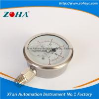 Pressure Gauge All Stainless Steel Double Scale Hot Selling to Korea Manufactures
