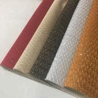 Shinning Sheer Sparkle Fabric , Glitter Material Fabric Shoe Upper Pattern Manufactures